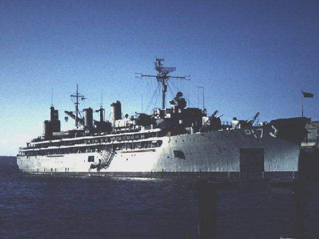 US Navy Ships  USS Tucker, DD-875  USS Piedmont, AD-17  USS